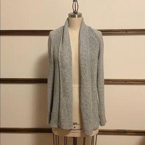 L.L. Bean Grey Knit Sweater